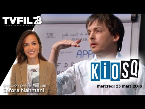 Kiosq – Emission du mercredi 24 mars 2016