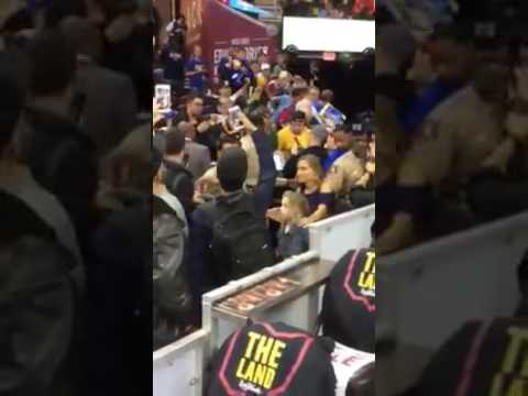 Quicken Loans Arena, hogar de los Cleveland Cavaliers previo al 3er partido Serie Final 2017