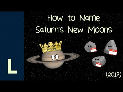 Wes Carroll Blog (58610) - Saturn's New Moons and How to Name Them