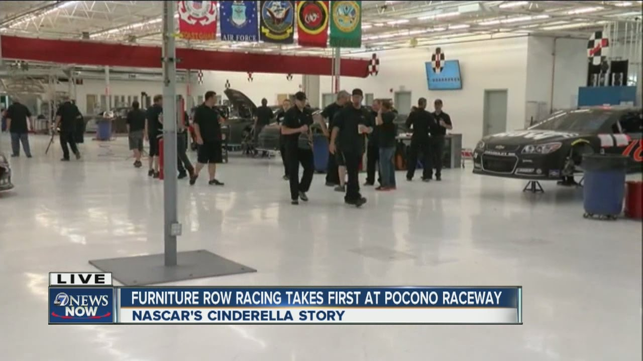Furniture Row Racing Team Back At Work After Winning Sprint Cup