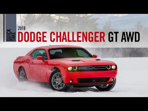 2018 Dodge Challenger GT All Wheel Drive Quick Take Review