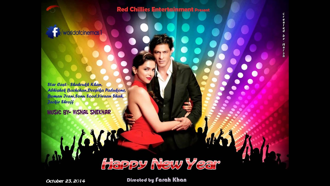 Happy New Year Movie Poster 64