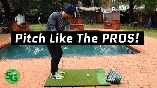 How To Pitch Like A PGA Tour Pro! 5 Tips for Golf Pitch Shots!