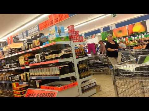 LIDL Supermarket, Spain  - Walk through