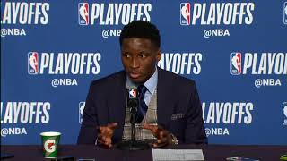 Victor Oladipo Postgame Interview | Pacers vs Cavaliers - Game 5 | April 25 | 2018 NBA Playoffs
