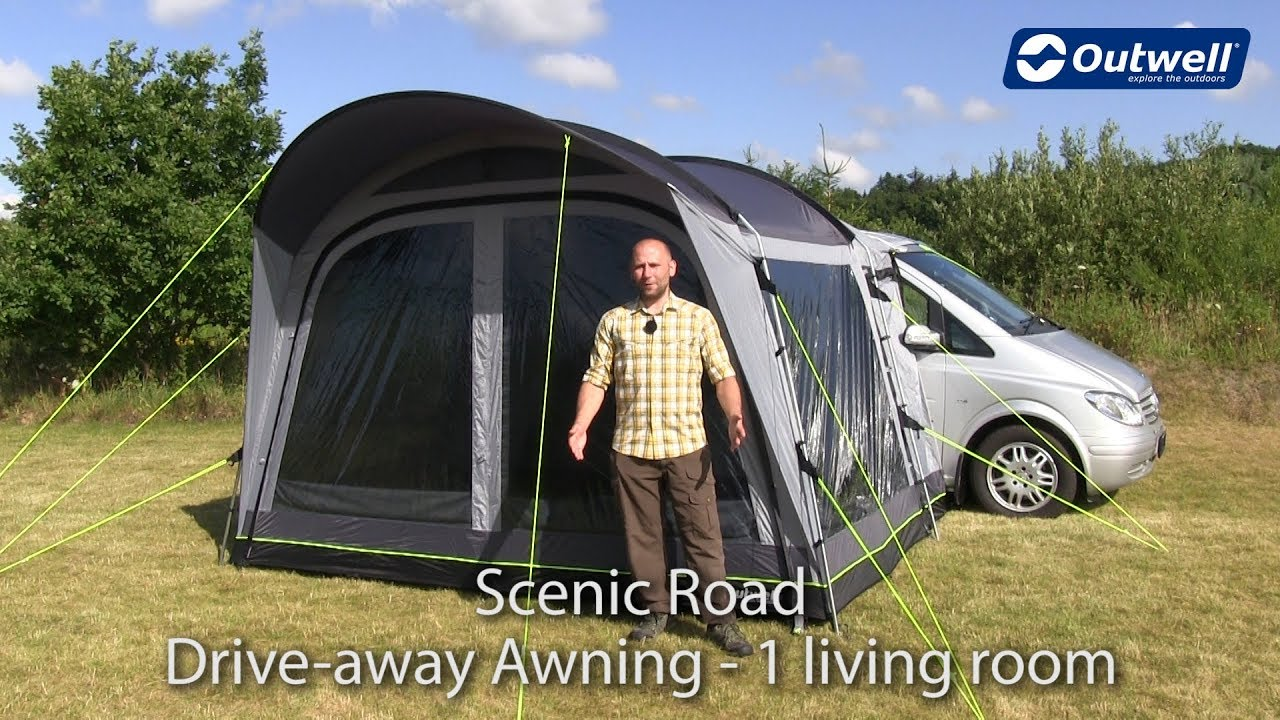 Scenic Road Drive Away Awning | Innovative Family C&ing & Scenic Road Drive Away Awning | Innovative Family Camping - YouTube