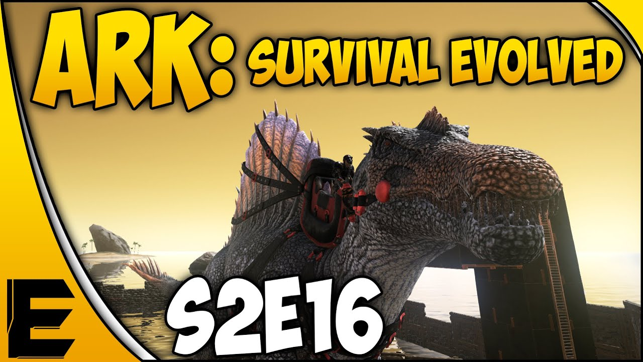 Ark survival evolved gameplay new metal base spinosaurus ark survival evolved gameplay new metal base spinosaurus riding s2e16 52 youtube malvernweather Images