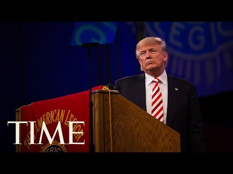 President Trump Gives Remarks To The National Convention Of The American Legion | TIME