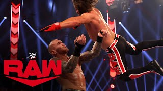 Randy Orton vs. AJ Styles - Winner Advances to Triple Threat Match: Raw, Nov. 23, 2020