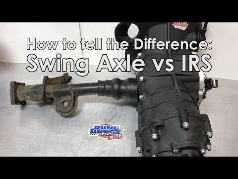 Swing Axle vs IRS Transmissions - How to tell the difference