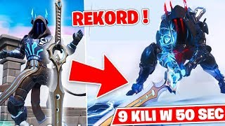 WIELKA DRAMA W FORTNITE - 9 KILLI W 50 SEKUND! Fortnite Swordroyale