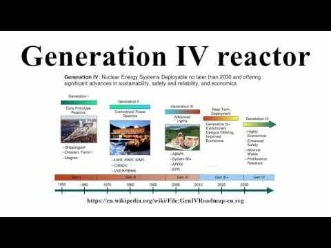 Generation IV reactor