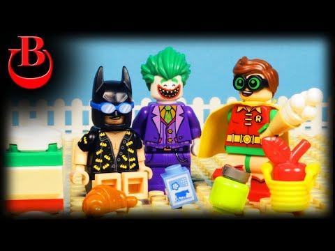 Lego Batman Ice Cream Machine Stop Motion Animation
