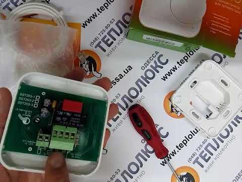 Новинка! Терморегулятор Теплолюкс 510 обзор, подключение, проверка работоспособности