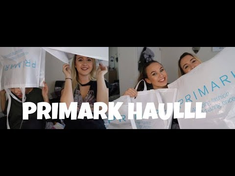 HUGE PRIMARK HAUL 💲🤑 | FT MY MANAGER EM | Yas Scott