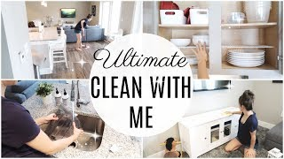 ULTIMATE CLEAN WITH ME 2018 // EXTREME CLEANING MOTIVATION // ALL DAY CLEAN WITH ME
