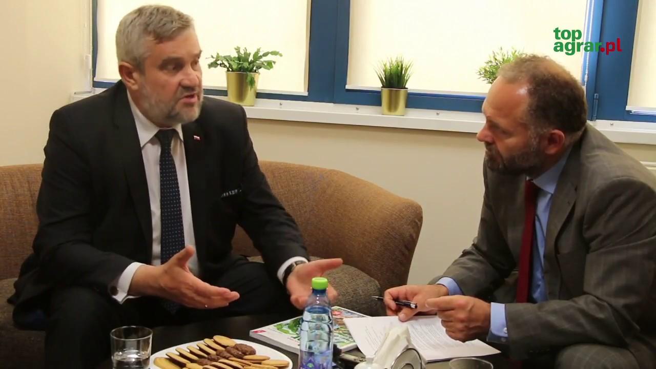 Jaką wizję polskiego rolnictwa ma nowy minister Jan Krzysztof Ardanowski?