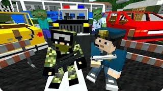 Карантин в городе! [ЧАСТЬ 2] Зомби апокалипсис в майнкрафт! - (Minecraft - Сериал)