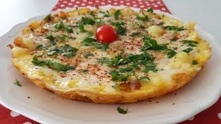 Patatesli Yumurtayı Birde Böyle Deneyin-Kahvaltılık Pratik Tarifler-Gurbetinmutfagi