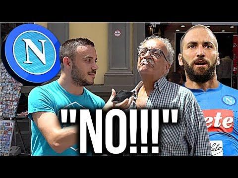 UFFICIALE: HIGUAÍN RITORNA al NAPOLI!!! [*PRANK* ai TIFOSI NAPOLETANI]