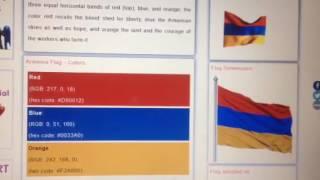 Info on Armenian Flag