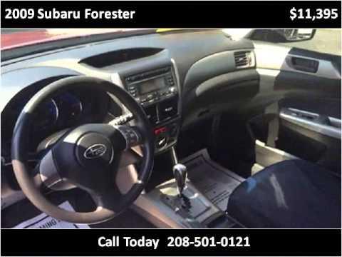 2009 Subaru Forester Used Cars Boise Id Youtube