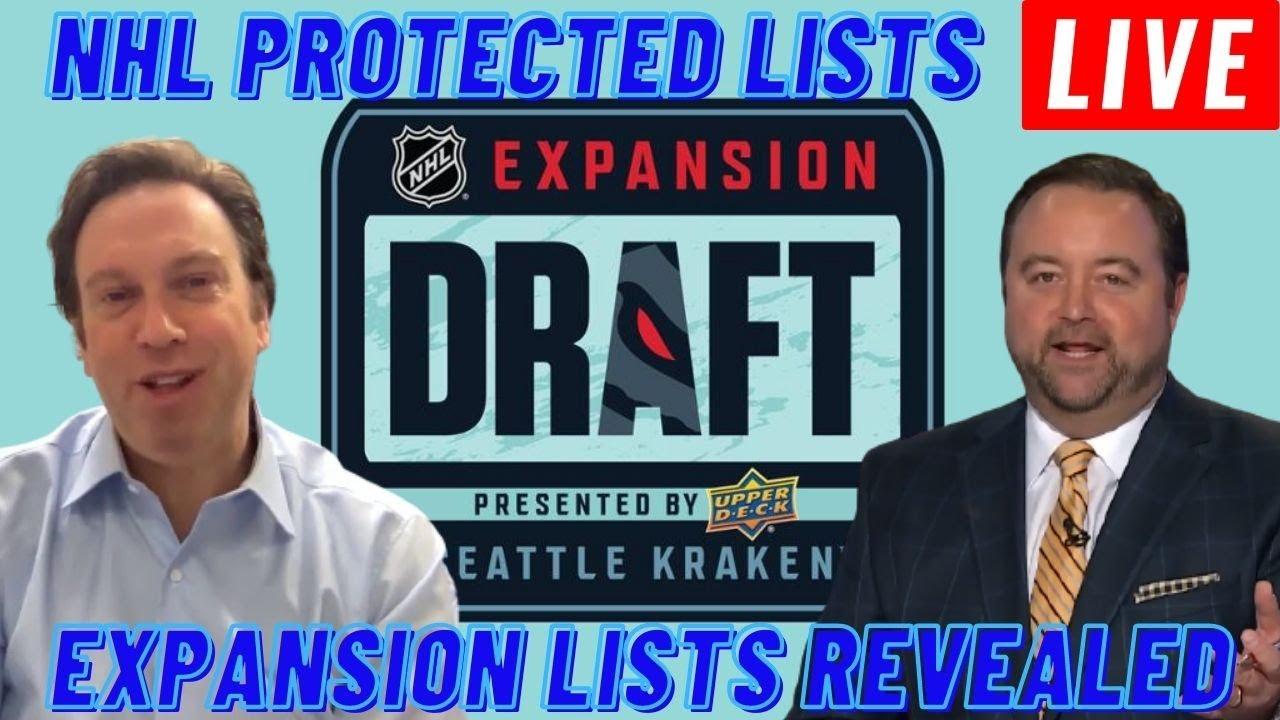 Recapping the Seattle Kraken NHL Expansion Draft