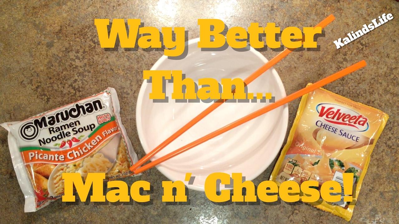 Maruchan Picante Chicken Amp Velveeta Cheese Ramen Recipe