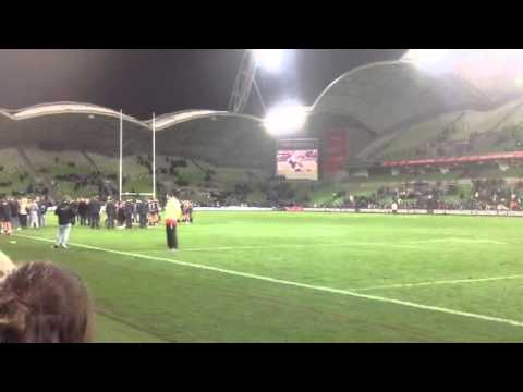 Part 1 Cameron smith speech after 300th game