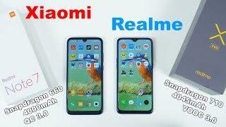 Redmi Note 7 больше не ХИТ😕 Xiaomi повержен! Сравнение Redmi Note 7 и Realme 3 Pro!