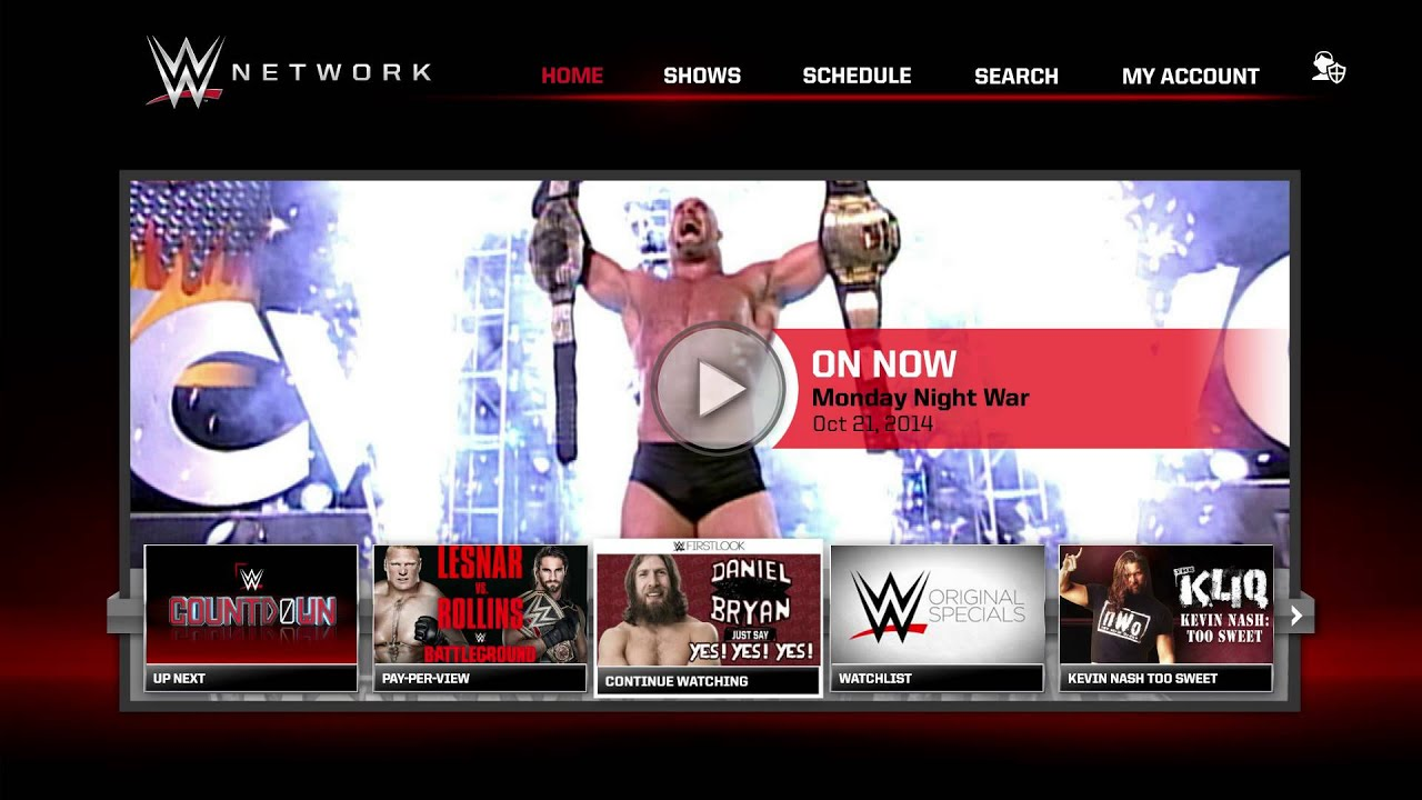 NVIDIA SHIELD TV - WWE App (Overview)