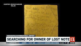 Searching for Owner of Lost Note