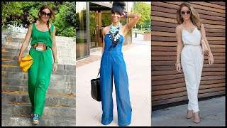 How to Wear Jumpsuits For This Spring