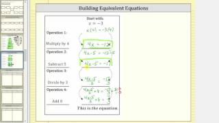 (4 Adım)oluşturmak Eşdeğer Denklemler II