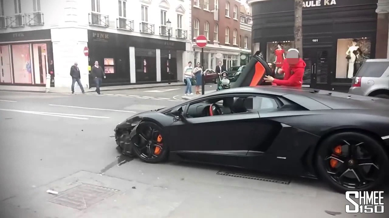 Guy Crashes Lamborghini Youtube