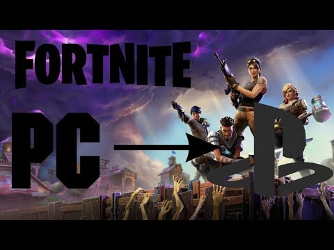 how to join ps4 with pc fortnite