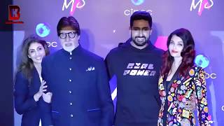Aishwarya Rai Angry On Abhishek's Sister Shweta In Front Of Amitabh Bachchan At LAUNCH OF LABEL MXS