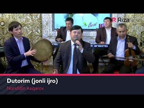 Nuriddin Asqarov - Dutorim Jonli Ijro