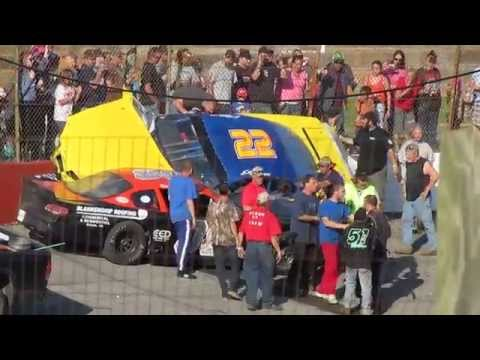 A Wild LMSC Race at Franklin County Speedway 5/18/14