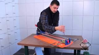 Профессиональный ручной плиткорез Rubi TS-60-E(Лёгкий и функциональный плиткорез серии TS для резки керамики и керамической плитки. Купить Rubi TS-60-E в интерн..., 2015-05-08T11:34:22.000Z)