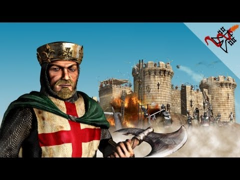 Stronghold Crusader - Mission 77 | Wall of Death (Warchest Trail)