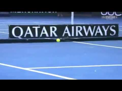 Roger Federer vs Stan Wawrinka Best Shot HD IPTL Singapore 2015