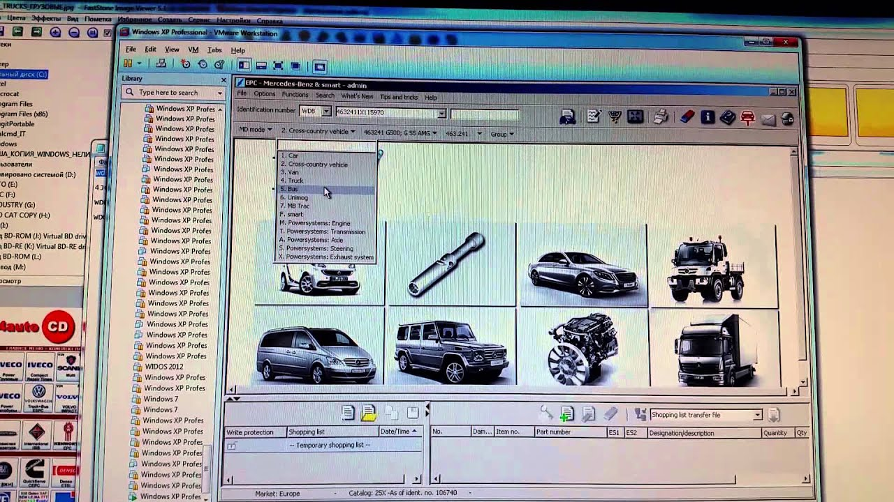 mercedes benz ewa epc parts program youtube
