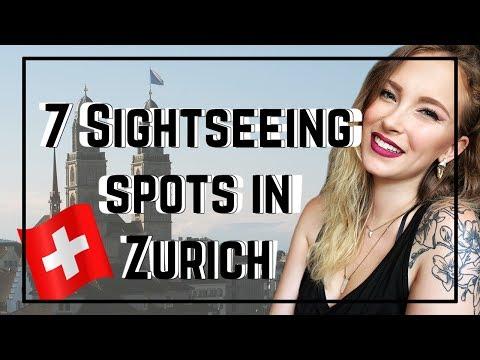 7 SIGHTSEEING SPOTS IN ZURICH