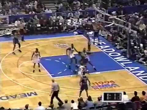 Patrick Ewing (36p/14r/5b) - Highlights vs Derrick Coleman and the Nets 1994 Playoffs Game 4