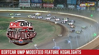 Charlotte Motor Speedway DIRTcar UMP Modified Highlights