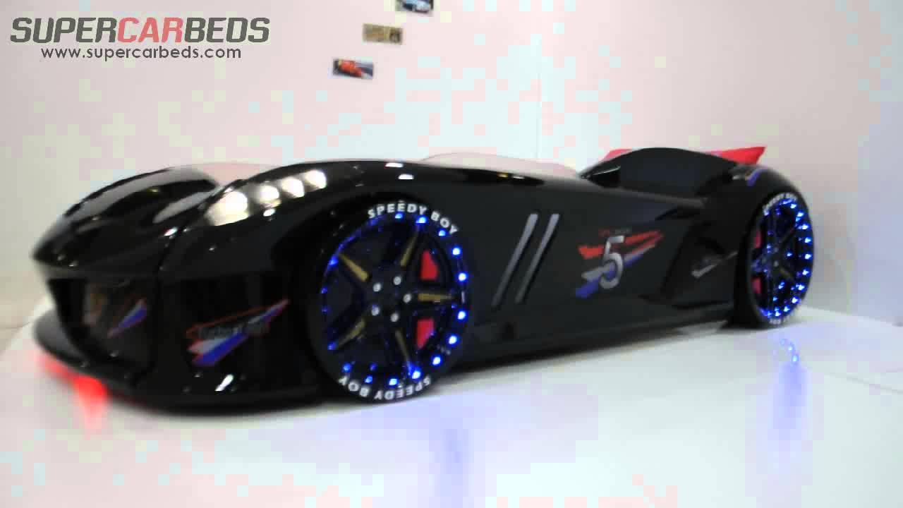 Speedy Black Car bed - YouTube