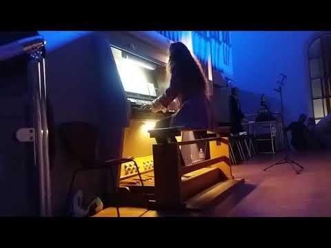 Супер игра на органе. Анастасия Марушко. Смотрите за руками и ногами. Талант. Одесса. Music