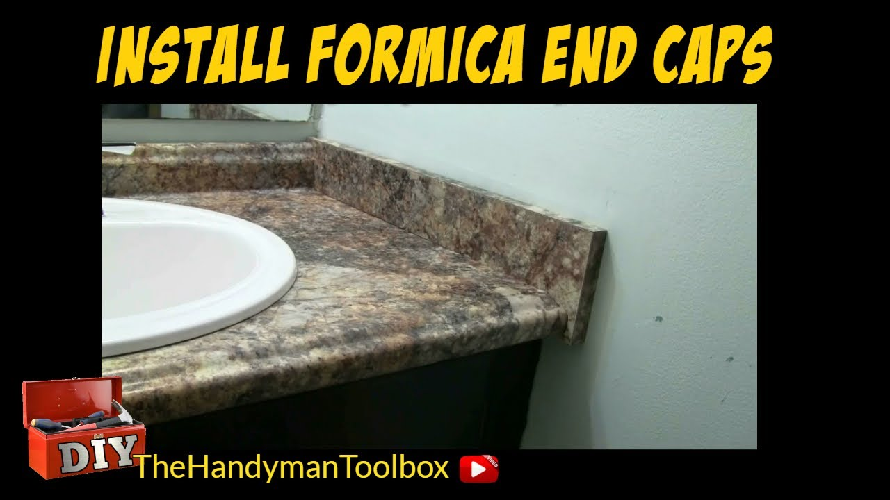 How to install formica end caps on a bathroom vanity youtube - How to install a bathroom vanity ...