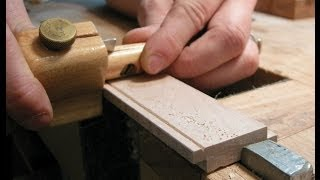 Making A Wooden Chair Seat- The Funeral Chair Part Six.